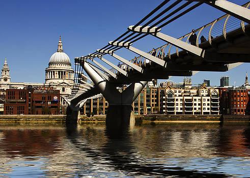 David French - Millennium Bridge Thames London