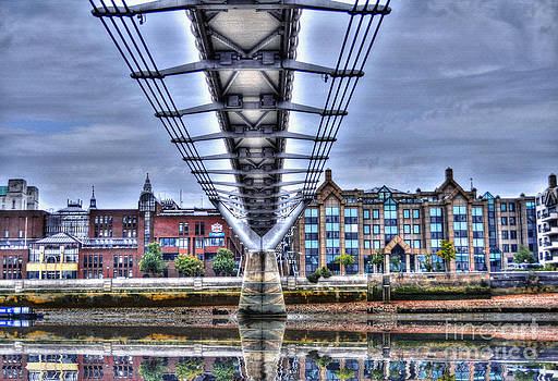 Millennium Footbridge I by Skye Ryan-Evans