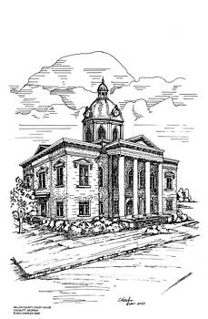 Miller County Courthouse by Charles Sims