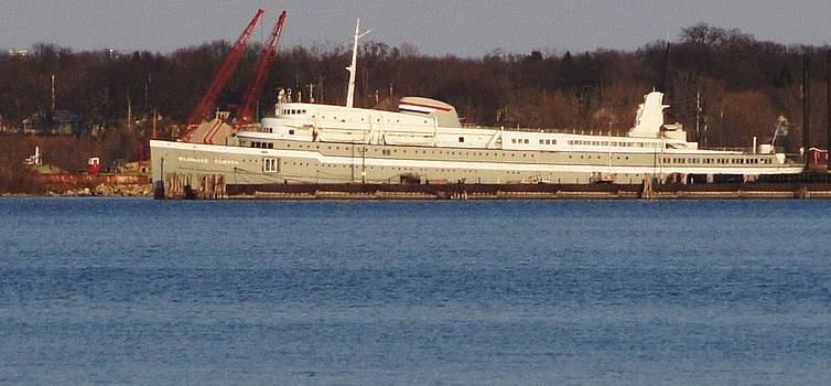 Rosemarie E Seppala - Milwaukee Clipper In Her Berth At Muskegon Lake