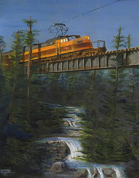 Milwaukee Road's Wilderness by Christopher Jenkins