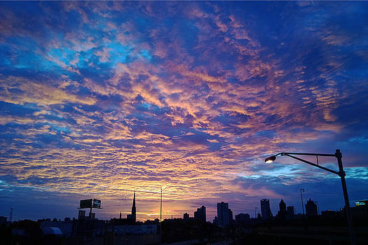 Milwaukee Sunrise by Terence McSorley