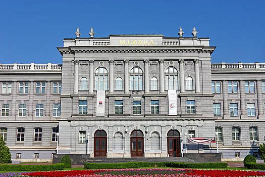Mimara museum Zagreb by Borislav Marinic