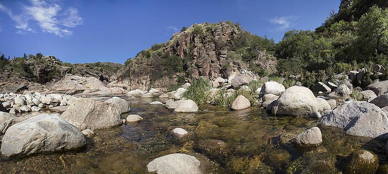 Mina Clavero River Argentina by Alfredo Rougouski
