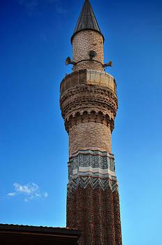 Minaret of Sahipata Mosque by Kivanc Ekinci