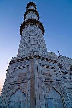 Devinder Sangha - Minaret of Taj Mahal