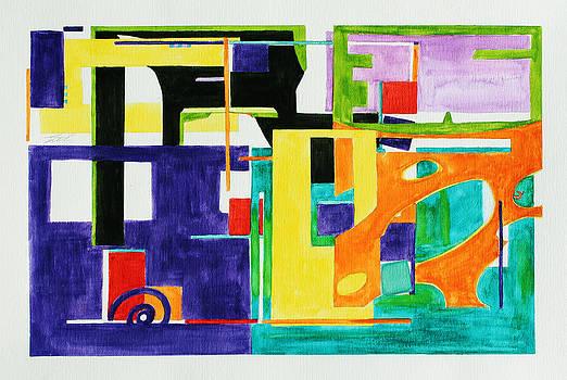 Mindscape II by Xueling Zou