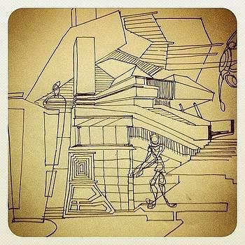 #mindscape4 #sketch #architectural by Hugo Lemes
