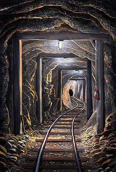 Frank Wilson - Mine Shaft Mural