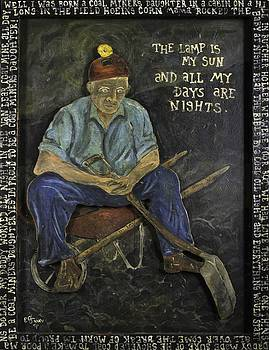 Miner - Lamp Is My Sun by Eric Cunningham