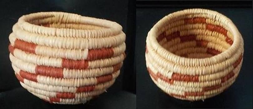 Mini Lightening Coil Bowl Basket #1060 by Darlene Ryer