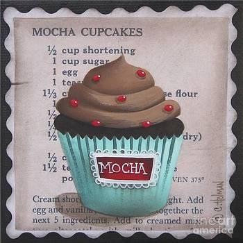 Mini Mocha Cupcake by Catherine Holman