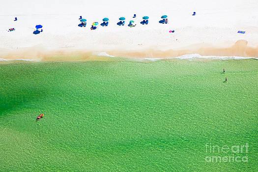 Miniature Panama City Beach Florida by Christy Woodrow