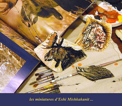 miniatures d Eshi Mishkakanit by Gino Carrier
