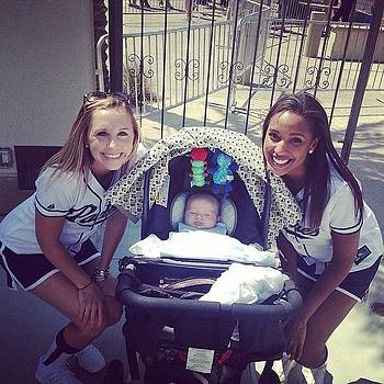 #miniboo's #firstmlbgame #padres by Chelsea Daus