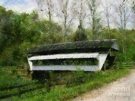 Scott B Bennett - Mink Hallow Coverd Bridge Amanda Ohio
