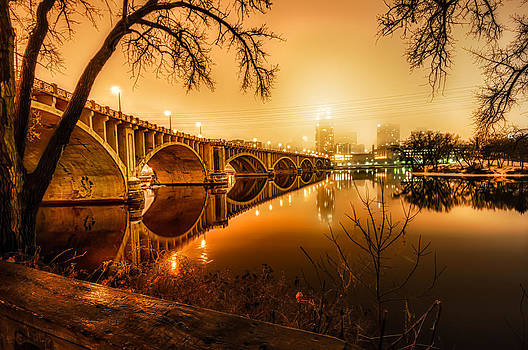 Minneapolis in the Fog by Mark Goodman