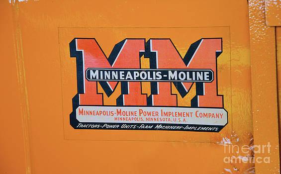 Paul Mashburn - Minneapolis Moline Tractor