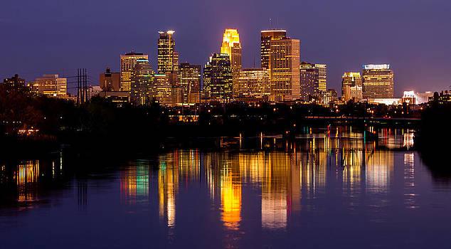 Minneapolis Skyline by Christopher Broste