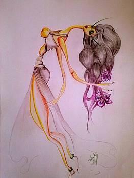 Minoa Godess by Ellada Amvrosiadou