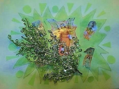 Mint Angel by Karen Jensen