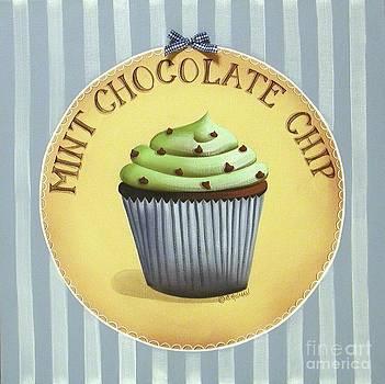 Mint Chocolate Chip Cupcake by Catherine Holman