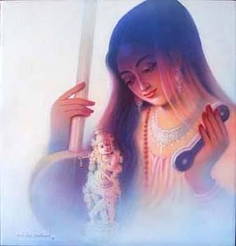 Mirabai by Milind Shimpi