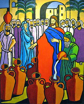 Miracle at Cana by Nicholas Martori