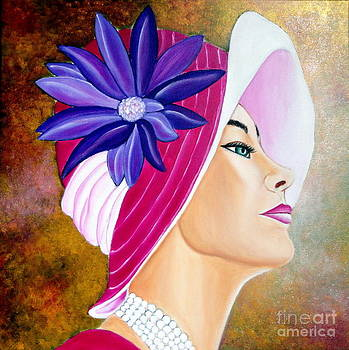 Mirada De Glamour-1 by Carmen Junyent