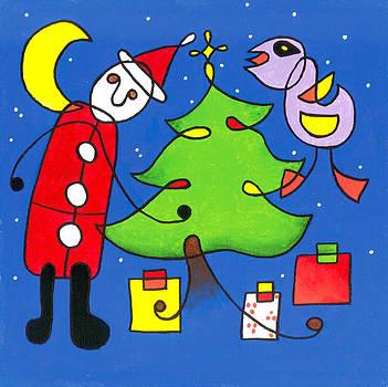 E Gibbons - Miro Style Christmas Tree