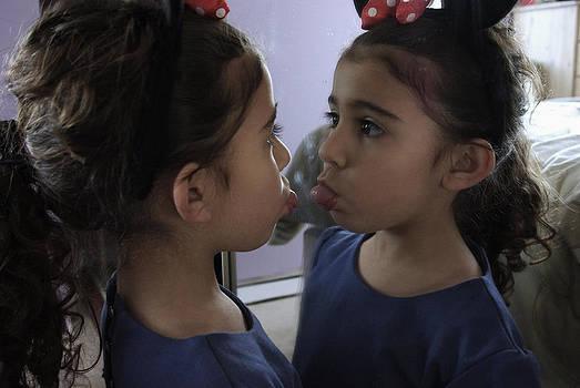 Mirror girl by Paulo Simao