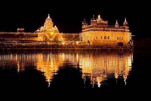 Devinder Sangha - Mirror in water
