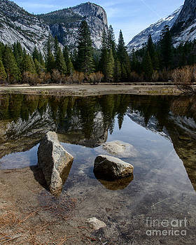 Mirror Lake Threesome 3 Yosemite by Terry Garvin