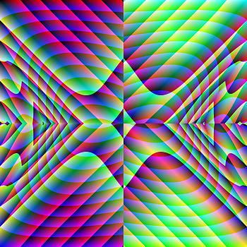 Mirrored Arrowheads by Joel Kahn