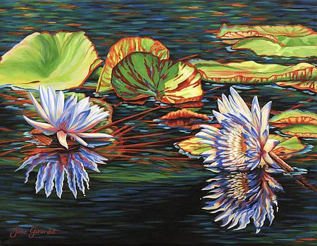 Jane Girardot - Mirrored Lilies