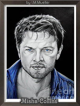 Misha Collins by Iracema Marianne Muller