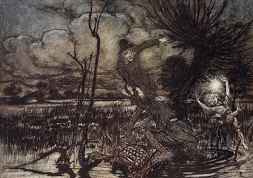 Arthur Rackham - Mislead Night-wanderers, Laughing