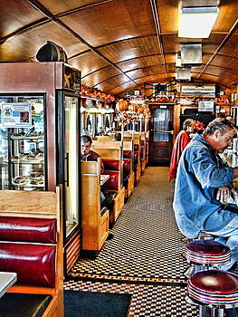 Miss Florence Diner Interior by Mike McCool