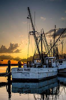 Miss Hazel Shrimp Boat by Richard Kook