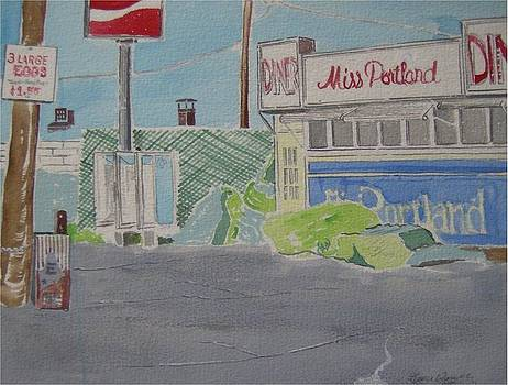 Miss Portland Diner by Catherine Worthley