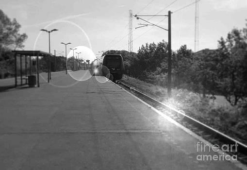 Missed the train by Susanne Baumann