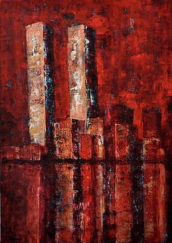 Missing New York II by Beata Belanszky-Demko