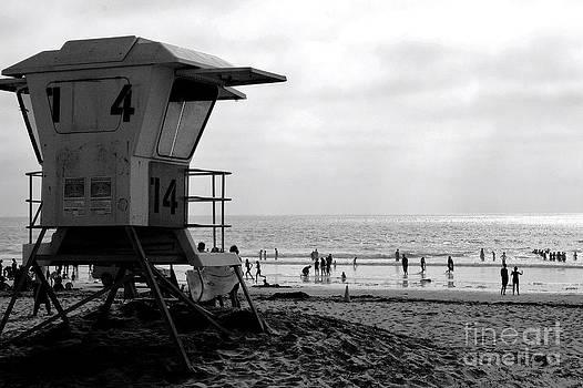 Mission Beach San Diego by David Gardener