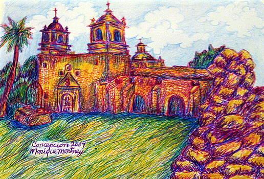 Monique Montney - Mission Concepcion in San Antonio Texas