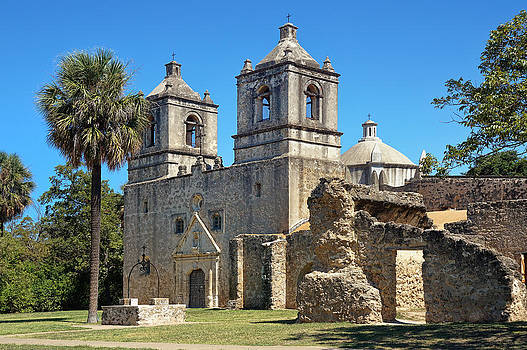 Mission Concepcion by Lanis Rossi