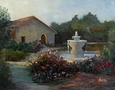 Mission Fountain by Judy Fisher Walton