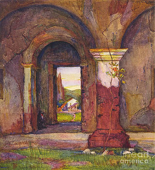 California Views Mr Pat Hathaway Archives - Mission Of San Juan Capistrano by Rowena Meeks Abdy 1887-1945