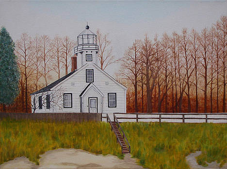 Mission Point Lighthouse by Brandy Gerber