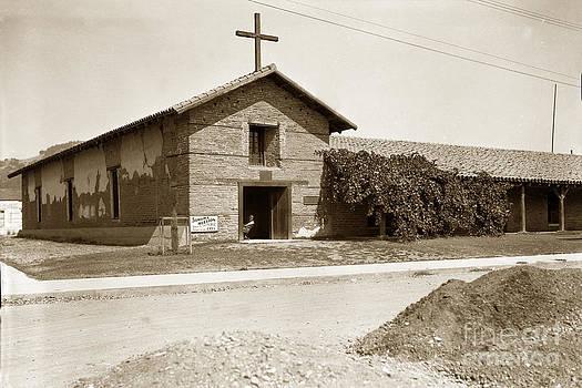 California Views Mr Pat Hathaway Archives - Mission San Francisco Solano Sonoma California circa 1920