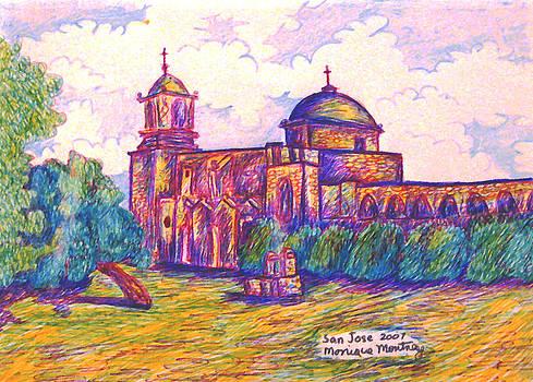 Monique Montney - Mission San Jose in San Antonio Texas